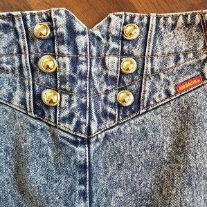 Jordache Skirts - Jordache Gold vintage denim skirt